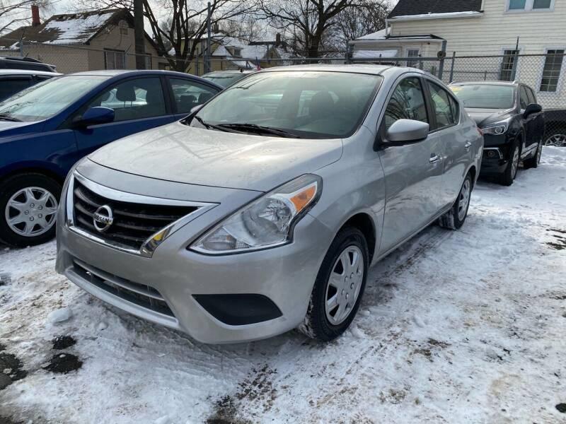 2017 Nissan Versa for sale at C & M Auto Sales in Detroit MI