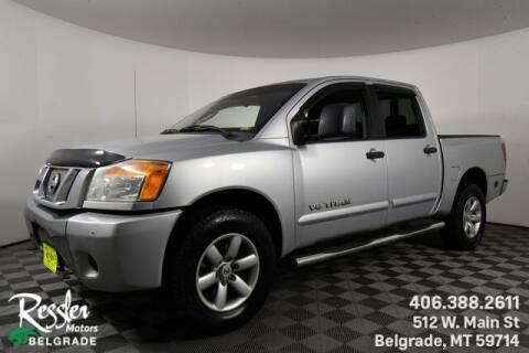 2010 Nissan Titan for sale at Danhof Motors in Manhattan MT