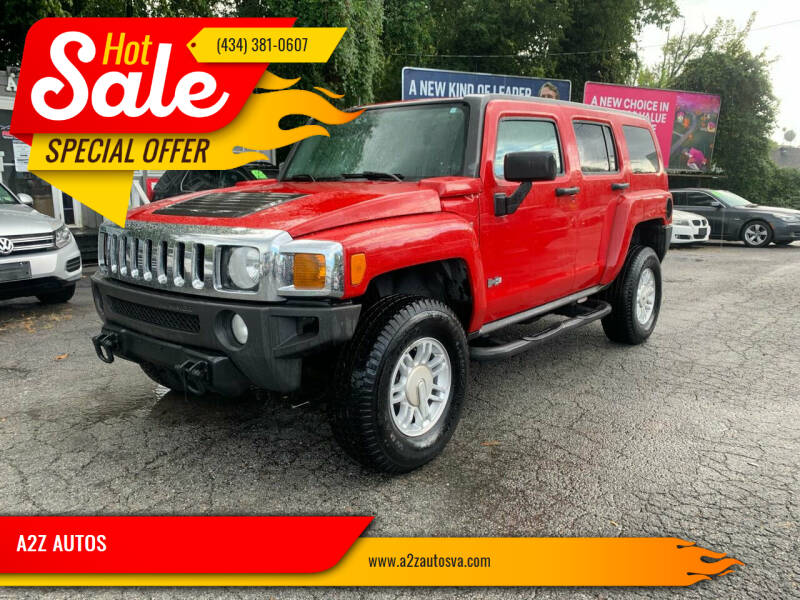 2008 HUMMER H3 for sale at A2Z AUTOS in Charlottesville VA