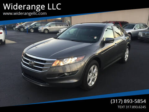 2012 Honda Crosstour for sale at Widerange LLC in Greenwood IN