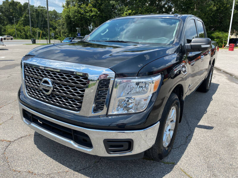 2017 Nissan Titan for sale at Capital City Imports in Tallahassee FL