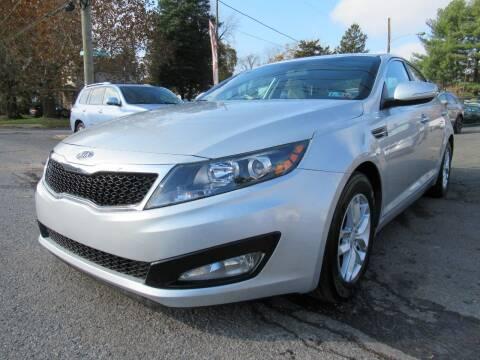 2012 Kia Optima for sale at PRESTIGE IMPORT AUTO SALES in Morrisville PA