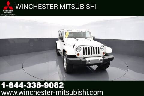 2013 Jeep Wrangler Unlimited for sale at Winchester Mitsubishi in Winchester VA