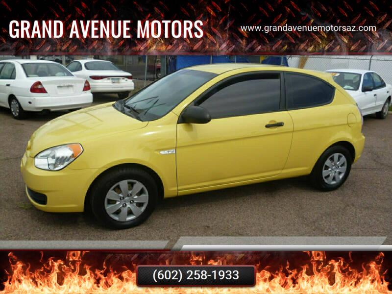 2008 Hyundai Accent for sale at Grand Avenue Motors in Phoenix AZ