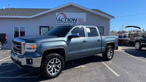 2014 GMC Sierra 1500 for sale at Action Motor Sales in Gaylord MI