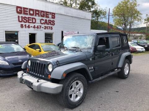2007 Jeep Wrangler Unlimited for sale at George's Used Cars Inc in Orbisonia PA
