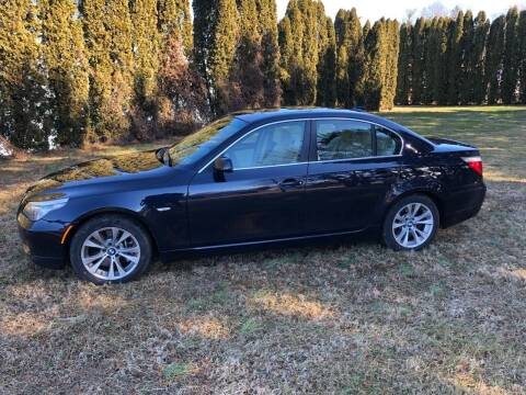 2009 BMW 5 Series for sale at MECHANICSBURG SPORT CAR CENTER in Mechanicsburg PA