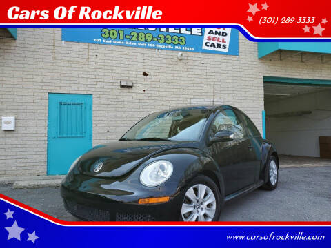 2008 Volkswagen New Beetle for sale at Cars Of Rockville in Rockville MD