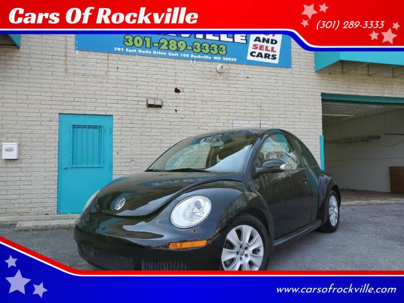 2008 Volkswagen New Beetle for sale at Cars Of Rockville in Rockville MD