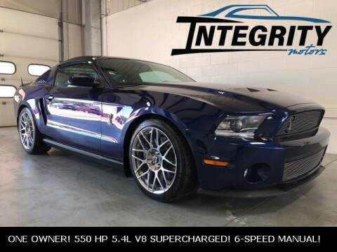 2011 Ford Shelby GT500 for sale at Integrity Motors, Inc. in Fond Du Lac WI