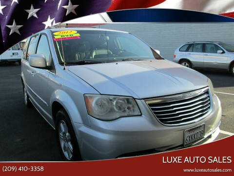 2012 Chrysler Town and Country for sale at Luxe Auto Sales in Modesto CA