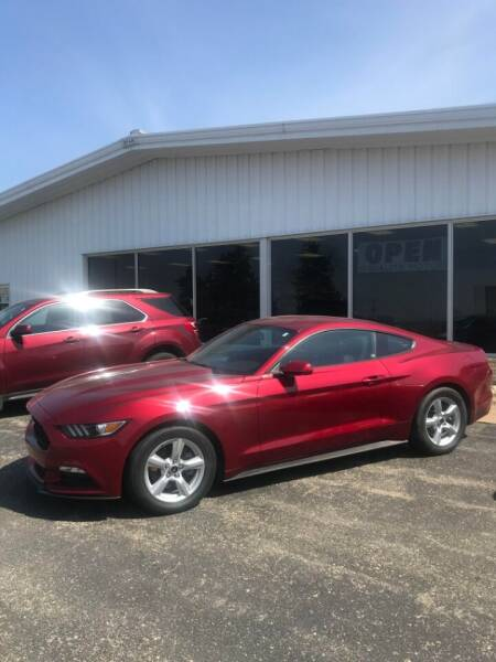 2016 Ford Mustang for sale at QUALITY MOTORS in Cuba City WI