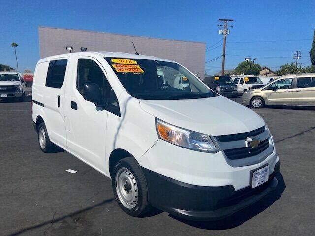 2016 Chevrolet City Express Cargo for sale at Auto Wholesale Company in Santa Ana CA