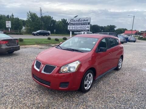 2009 Pontiac Vibe for sale at Jackson Automotive in Smithfield NC