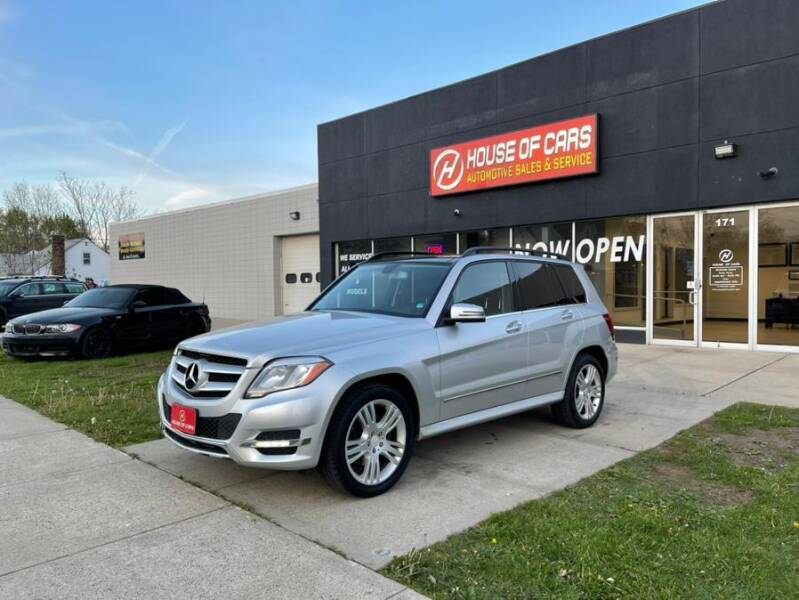 2013 Mercedes-Benz GLK for sale at HOUSE OF CARS CT in Meriden CT