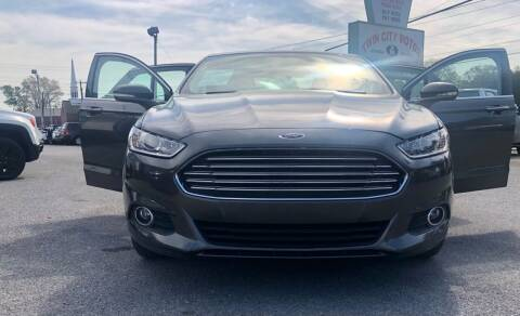 2016 Ford Fusion for sale at Morristown Auto Sales in Morristown TN