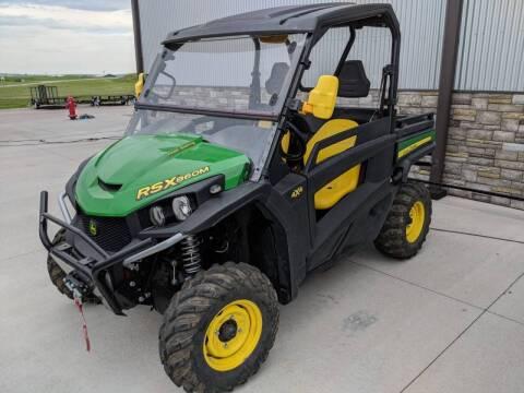 2018 John Deere Gator RSX860M