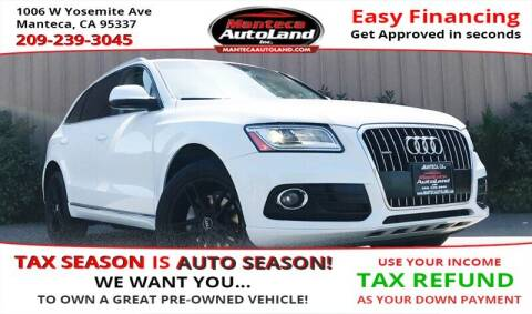 2013 Audi Q5 for sale at Manteca Auto Land in Manteca CA
