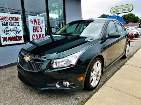2014 Chevrolet Cruze for sale at New Concept Auto Exchange in Glenolden PA
