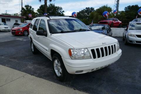 2000 Jeep Grand Cherokee for sale at J Linn Motors in Clearwater FL