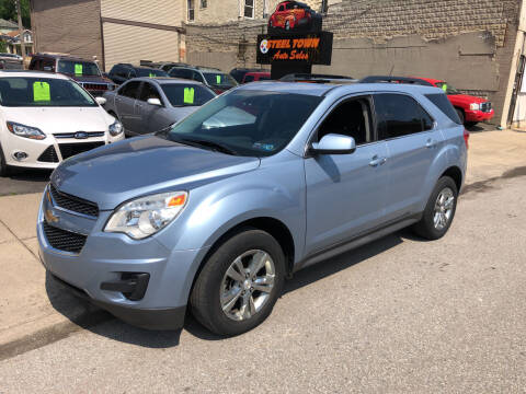 2014 Chevrolet Equinox for sale at STEEL TOWN PRE OWNED AUTO SALES in Weirton WV