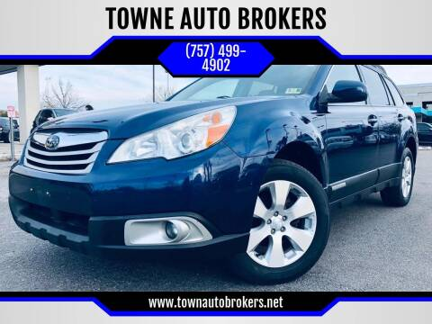 2011 Subaru Outback for sale at TOWNE AUTO BROKERS in Virginia Beach VA