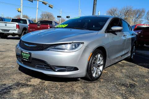 2015 Chrysler 200 for sale at Island Auto in Grand Island NE
