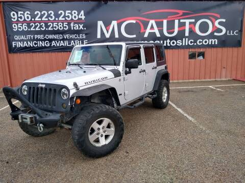 2008 Jeep Wrangler Unlimited for sale at MC Autos LLC in Pharr TX