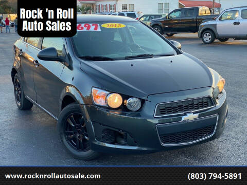 2015 Chevrolet Sonic for sale at Rock 'n Roll Auto Sales in West Columbia SC