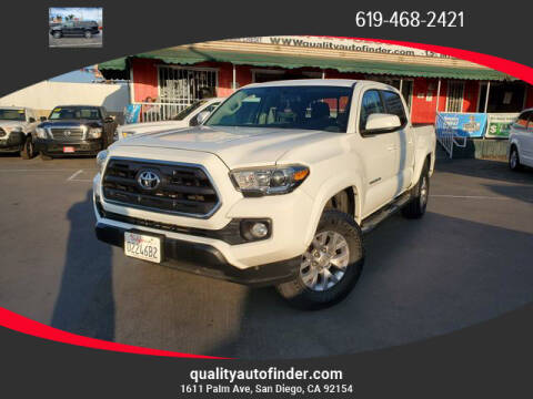 2016 Toyota Tacoma for sale at QUALITY AUTO FINDER in San Diego CA