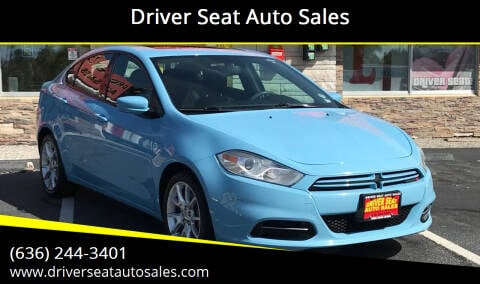 2013 Dodge Dart for sale at Driver Seat Auto Sales in St. Charles MO