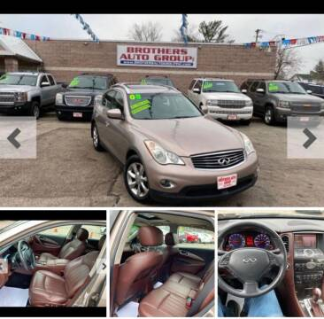 2008 Infiniti EX35 for sale at Brothers Auto Group in Youngstown OH