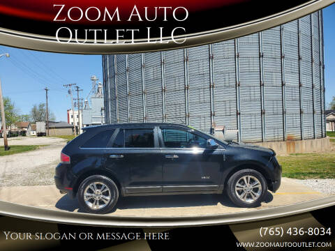 2010 Lincoln MKX for sale at Zoom Auto Outlet LLC in Thorntown IN