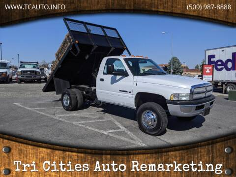 2002 Dodge Ram Chassis 3500 for sale at Tri Cities Auto Remarketing in Kennewick WA