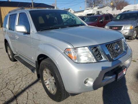 2010 Nissan Pathfinder for sale at ROYAL AUTO SALES INC in Omaha NE