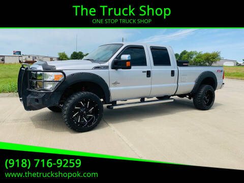 2012 Ford F-350 Super Duty for sale at The Truck Shop in Okemah OK