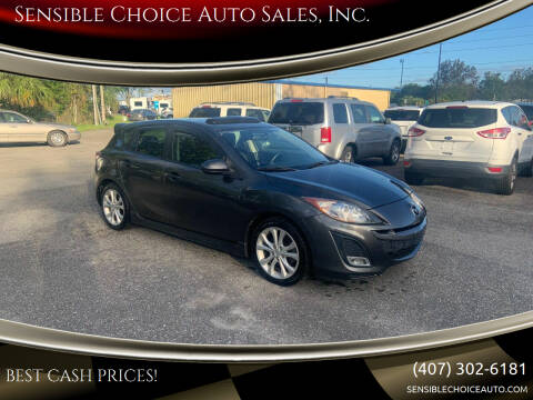 2011 Mazda MAZDA3 for sale at Sensible Choice Auto Sales, Inc. in Longwood FL