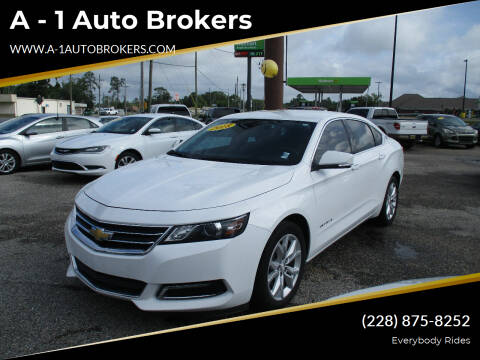 2018 Chevrolet Impala for sale at A - 1 Auto Brokers in Ocean Springs MS