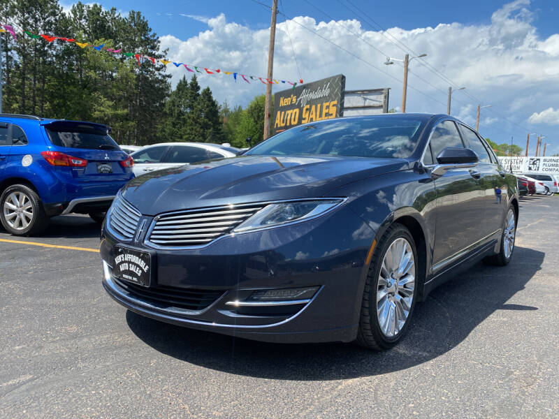 2014 Lincoln MKZ for sale at Affordable Auto Sales in Webster WI