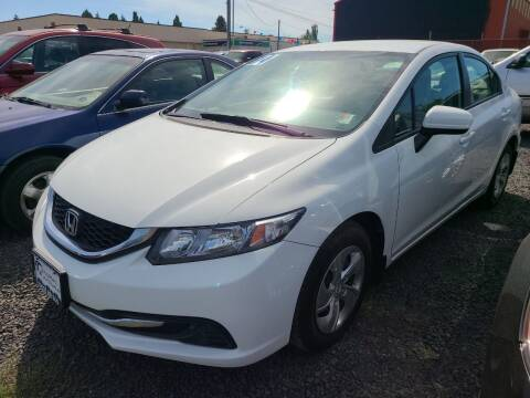 2014 Honda Civic for sale at Universal Auto Sales in Salem OR