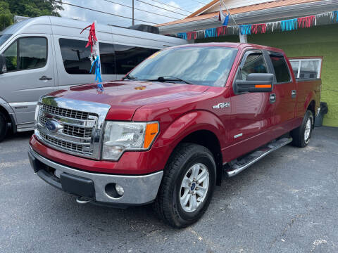 2013 Ford F-150 for sale at PIONEER USED AUTOS & RV SALES in Lavalette WV