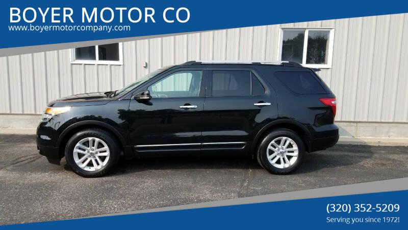 2011 Ford Explorer for sale at BOYER MOTOR CO in Sauk Centre MN