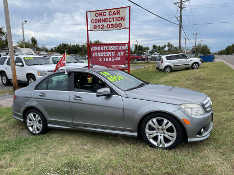 2010 Mercedes-Benz C-Class for sale at OKC CAR CONNECTION in Oklahoma City OK