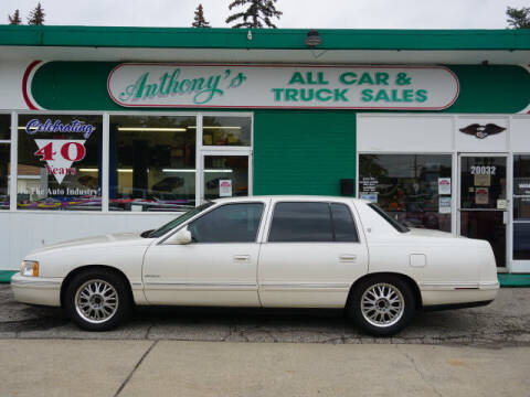 1999 Cadillac DeVille for sale at Anthony's All Cars & Truck Sales in Dearborn Heights MI