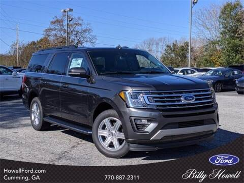 2020 Ford Expedition MAX for sale at BILLY HOWELL FORD LINCOLN in Cumming GA