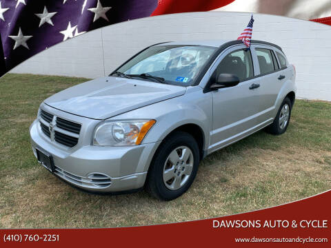 2008 Dodge Caliber for sale at Dawsons Auto & Cycle in Glen Burnie MD