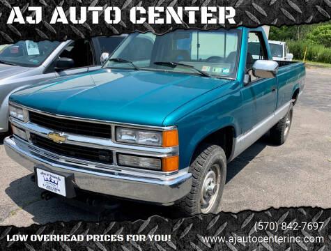 1994 Chevrolet C/K 2500 Series for sale at AJ AUTO CENTER in Covington PA