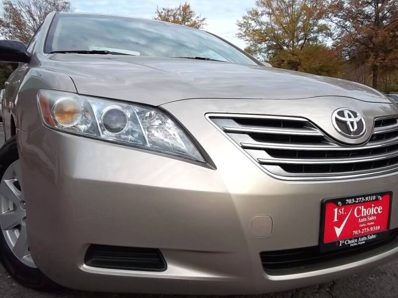 2007 Toyota Camry Hybrid for sale at 1st Choice Auto Sales in Fairfax VA