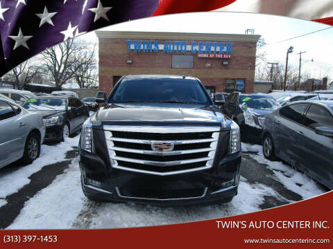 2016 Cadillac Escalade ESV for sale at Twin's Auto Center Inc. in Detroit MI