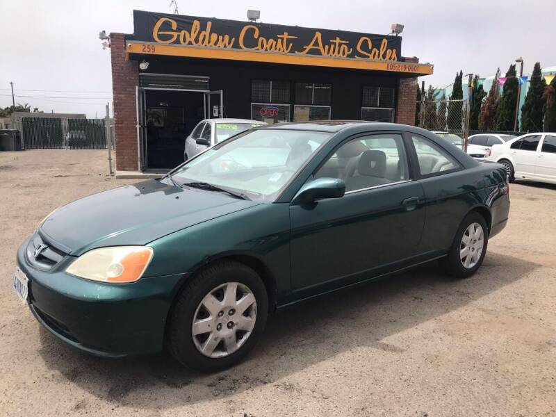 2001 Honda Civic for sale at Golden Coast Auto Sales in Guadalupe CA